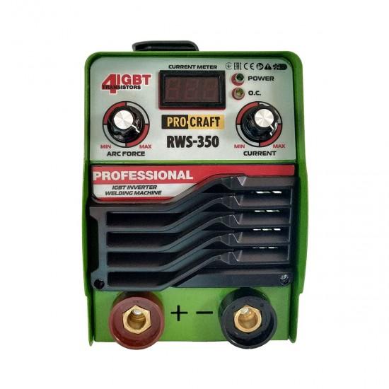 Aparat sudura Invertor ProCraft 350 RWS Afisaj electronic + accesorii