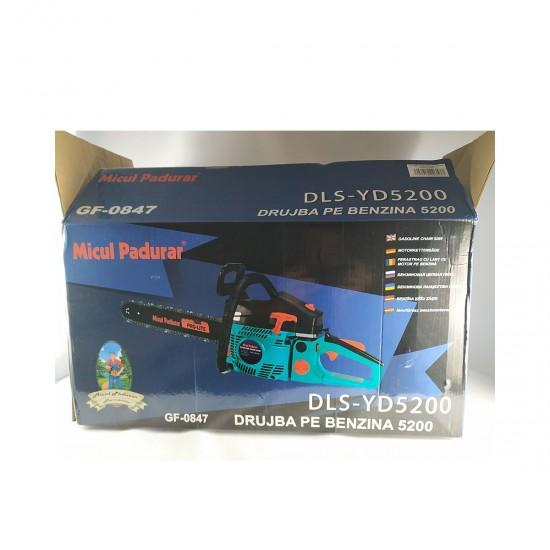 Drujba pe benzina (motofierastrau) Micul Padurar 5200, 2.95 CP