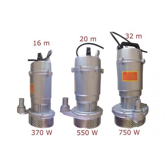Pompa submersibila DRK QDX3, apa curata, 550W