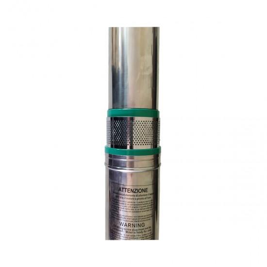 Pompa submersibila DRK QJD5-120, inox, bobinaj de cupru, 1100W