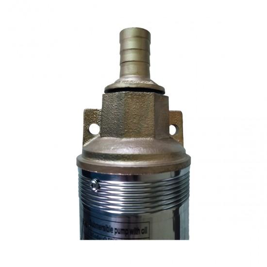 Pompa submersibila DRK QJD5-130 inox, motor pe ulei, 1100W