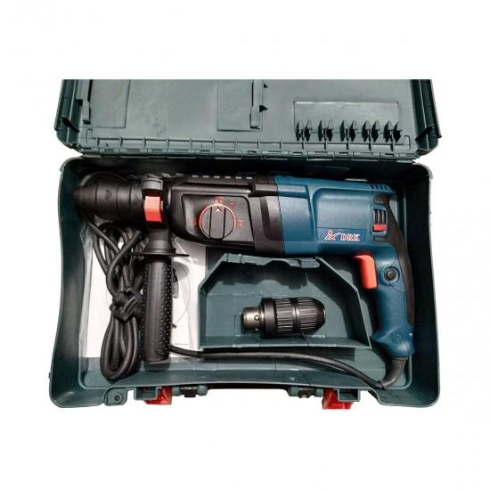 Masina de gaurit cu percutie (Picamer/Rotopercutor) DRK, 800W cu adaptor SDS